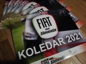 Koledar Fiat klub Slovenija 2021
